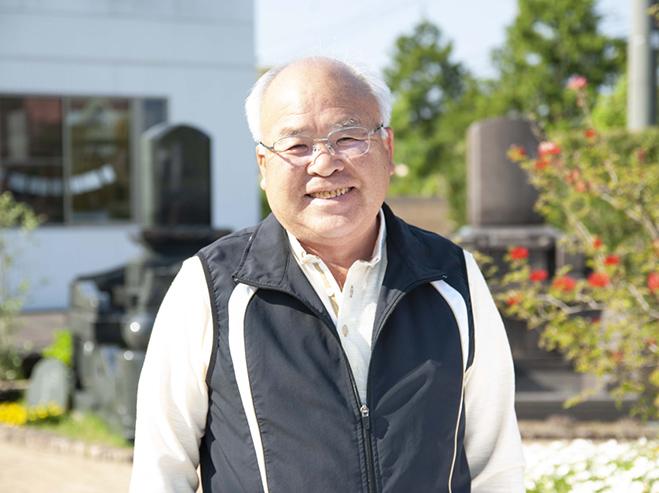 ダイボ石材店 代表取締役社長 大保真郷